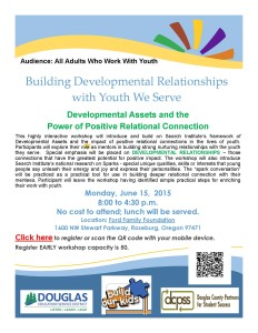 Registration Link Developmental Relationships Workshop Flyer (2)